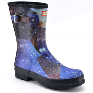 Hunter Original Mens Space Camo Boots US 12  New